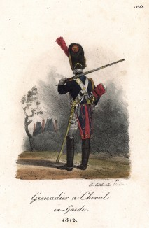 Французский конный гренадер в 1812 году (лист 68)