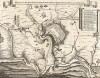 Тридцатилетняя война 1618-48 гг. Взятие крепости Йиглава в Моравии. 7 декабря 1647 г. Belagerung der Statt Iglaw durch Herrn Feldtzeug Meistern Grafen von Pucheim, so den 7. December 1647. Гравюра Маттеуса Мериана. Франкфурт, 1652