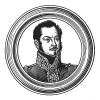 """Гаспар Гурго (1783—1852) — главный адъютант Наполеона I, герой Русской кампании 1812 г. и """"Ста дней"""", барон. Провел три года на острове Святой Елены вместе с Наполеоном. Генерал-лейтенант (1830). Илл. к пьесе С.Гитри """"Наполеон"""", Париж, 1955"""