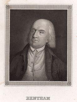 Иеремия Бентам (1748-1832) - английский философ, юрист и социолог.