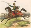 Офицер австрийских гусар в 1830-е гг. (из K. K. Oesterreichische Armée nach der neuen Adjustirung in VI. abtheil. III te. Abtheil. Cavallerie. Лист 11. Вена. 1837 год)