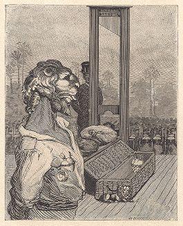 """Тридцать первый лист серии """"Бельфорский лев"""" Макса Эрнста, входящей в роман-коллаж """"Une Semaine de bonté"""" (Неделя доброты), 1934 год."""