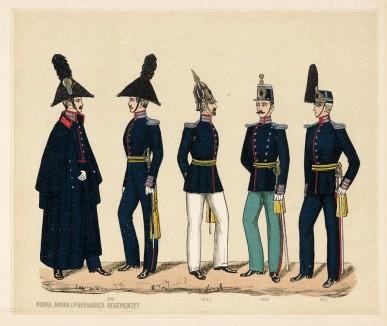 Лейб-гренадеры шведского короля в 1816--1872 гг. (полк Andra (шв.))