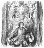 Король Франции Людовик XV (1710-1774), противник Фридриха Великого в Семилетней войне. Илл. Адольфа Менцеля. Geschichte Friedrichs des Grossen von Franz Kugler. Лейпциг, 1842, с.293