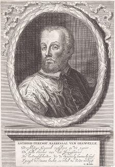 Антуан Перрено де Гранвель (1517--1586) -  французский государственный деятель, епископ Мехельмский, сподвижник императора Карла V и сторонник испанского короля Филиппа II, покровитель художников.