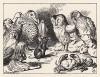 Общество, собравшееся на берегу, имело весьма неприглядный вид (иллюстрация Джона Тенниела к книге Льюиса Кэрролла «Алиса в Стране Чудес», выпущенной в Лондоне в 1870 году)
