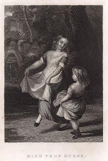 Танцующие девочки.
