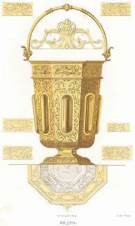 Ведро. Древности Российского государства..., отд. V, лист № 51, Москва, 1853.