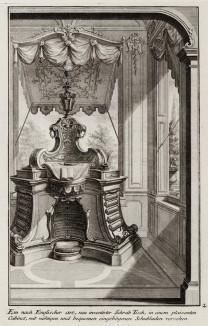 Английский письменный стол. Johann Jacob Schueblers Beylag zur Ersten Ausgab seines vorhabenden Wercks. Нюрнберг, 1730