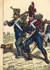 1809 г. Вольтижер и карабинер французской легкой пехоты. Коллекция Роберта фон Арнольди. Германия, 1911-28