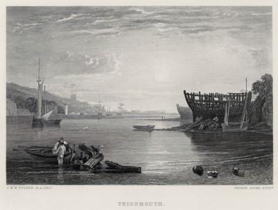 """Тинмут (лист из альбома """"Галерея Тёрнера"""", изданного в Нью-Йорке в 1875 году)"""
