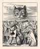 Король говорил, что раз есть голова, то её можно отрубить (иллюстрация Джона Тенниела к книге Льюиса Кэрролла «Алиса в Стране Чудес», выпущенной в Лондоне в 1870 году)