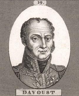 """Луи-Николя Даву (1770-1823 г.), маршал Франции. Отличавшийся необычайной жестокостью и твердостью, граничащей с предельной, Даву получил прозвище """"железный маршал""""."""