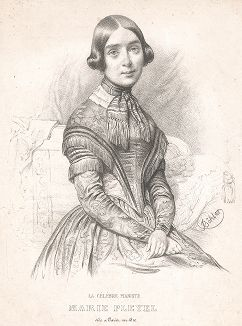 Мари Плейель (1811-1875) -  выдающаяся бельгийская пианистка и педагог.