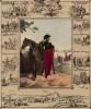1835 год. Офицер Генерального штаба, а также миниатюры, изображающие деятельность командных структур в разные эпохи французской истории (из Esquisses historiques... de l'armée francaise генерала Амбера. Брюссель. 1841 год)