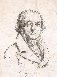Жан-Антуан Клод Шапталь (1756-1832) - французский химик и государственный деятель.