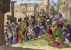 Карнавал в алжирском городе Оваргла (иллюстрация к L'Africa francese... - хронике французских колониальных захватов в Северной Африке, изданной во Флоренции в 1846 году)