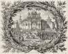 Въезд Иисуса Христа в Иерусалим (из Biblisches Engel- und Kunstwerk -- шедевра германского барокко. Гравировал неподражаемый Иоганн Ульрих Краусс в Аугсбурге в 1694 году)