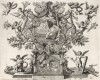 Явление ангела Иосифу с предупреждением о готовящемся избиении младенцев в Вифлееме (из Biblisches Engel- und Kunstwerk -- шедевра германского барокко. Гравировал неподражаемый Иоганн Ульрих Краусс в Аугсбурге в 1694 году)