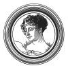 """Первая жена Наполеона I императрица Жозефина подписывает акт о разводе. Илл. к пьесе С.Гитри """"Наполеон"""", Париж, 1955"""