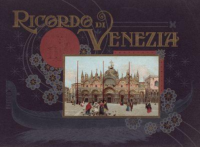 Обложка альбома Ricordo Di Venezia, 1913 год.