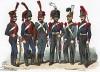 Униформа французских конных артиллеристов с 1792 по 1840 гг. Costumes de l'armée française depuis Louis XIV, jusqu'à nos jours, л.40. Париж, 1841