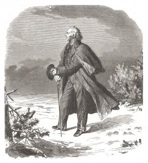 Граф Людвиг Йорк фон Вартенбург (1759-1830) - герой наполеоновских войн, прусский генерал-фельдмаршал. Preussens Heer, стр.65. Берлин, 1876