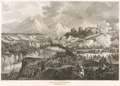 Битва при Роверето (Ровередо) 4 сентября 1796 г. Tableaux historiques des campagnes d'Italie depuis l'аn IV jusqu'á la bataille de Marengo. Париж, 1807