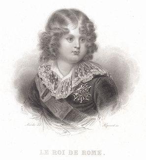 Наполеон II, король Римский, в детстве.