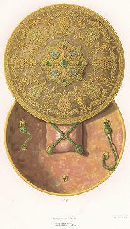 Щит. Древности Российского государства..., отд. III, лист № 65, Москва, 1853.