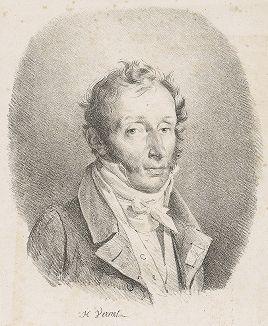 Портрет Карла Верне работы его сына, Ораса Верне, 1817 год.