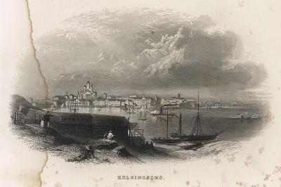 Гельсингфорс (Хельсинки). Эдвард Нолан, The Illustrated History of the War аgainst Russia, т.2. Лондон, 1857