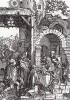 Поклонение волхвов (из Жития Богородицы Альбрехта Дюрера)
