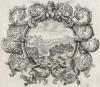 Иоас, царь Израиля, и Амасий, царь Иудеи, говорят о диких зверях из Ливана (из Biblisches Engel- und Kunstwerk -- шедевра германского барокко. Гравировал неподражаемый Иоганн Ульрих Краусс в Аугсбурге в 1700 году)