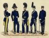 Мундиры артиллерийского полка 1-й Svea (шв.) в 1816--1888 гг.