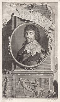 Фридрих V (1596--1632) - курфюрст Пфальцский и король Чехии под именем Фридрих I.