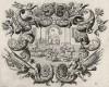 Столкновение между израильтянами и иудеями (из Biblisches Engel- und Kunstwerk -- шедевра германского барокко. Гравировал неподражаемый Иоганн Ульрих Краусс в Аугсбурге в 1700 году)