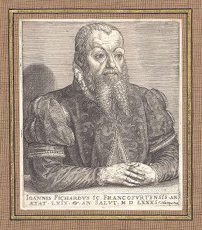 Иоганн Фихард (1512--1580) - один из ведущих немецких юристов XVI века.