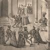Из Freydal. Des Kaisers Maximilian I. Turniere und Mummereien (Репринт 1882 года. Вена. Лист 100)