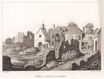 Руины Шато де Гомон.