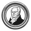 """Жан Николя Корвизар (1755-1821) - знаменитый французский медик и личный врач императора Франции Наполеона I с 1804 по 1815 год. Илл. к пьесе С.Гитри """"Наполеон"""", Париж, 1955"""