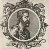 Авл Корнелий Цельс (1-я половина I века н.э.) -- Цицерон среди врачей (лист 18 иллюстраций к известной работе Medicorum philosophorumque icones ex bibliotheca Johannis Sambuci, изданной в Антверпене в 1603 году)