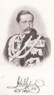 Вильгельм II (1859-1941) - последний император Германии и король Пруссии.