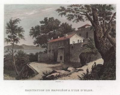 Резиденция Наполеона Бонапарта на острове Эльба. Здесь, имея титул императора острова, он провел девять месяцев и 21 день