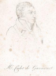 Шарль Луи Каде де Гассикур (1769-1821) - французский химик, личный фармацевт Наполеона I и литератор.
