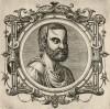 Нигер (лист 17 иллюстраций к известной работе Medicorum philosophorumque icones ex bibliotheca Johannis Sambuci, изданной в Антверпене в 1603 году)