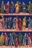 Охотники, строители, благородные дамы и другие средневековые модники и модницы