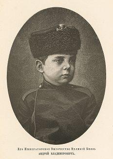 Его Императорское Высочество Великий Князь Андрей Владимирович.