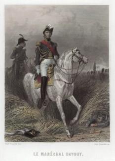 """Луи Николя Даву (1770—1823) — маршал Франции (1804), имевший прозвище """"железный маршал"""", герцог Ауэрштадтский и князь Экмюльский. Был единственным полководцем императора Наполеона I, не проигравшим к 1815 году ни одного сражения"""