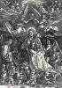Мария, венчаемая ангелами (гравюра Альбрехта Дюрера)
